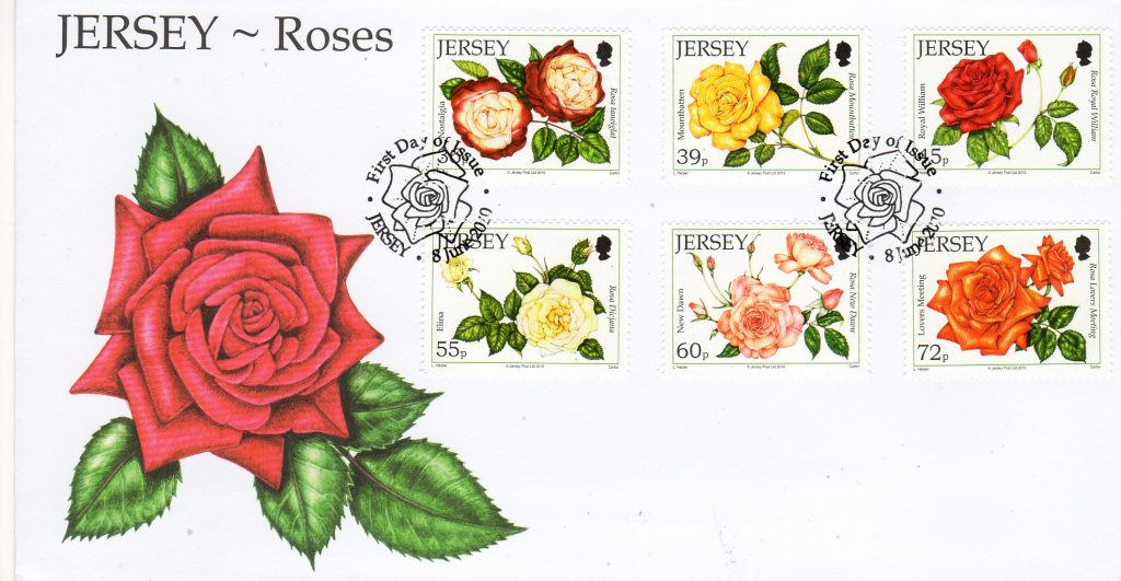Jersey Post Roses